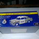Atlas editions Best of British police cars  Ford Anglia Metropolitan Police 1:43